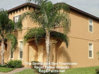 4 Bed 3 Bath Town Home Villa At Regal Palms Resort Orlando AS4214CL - Davenport vacation rentals