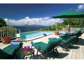 View from the pool deck - ChocoCruz - St. John with a View - Chocolate Hole - rentals