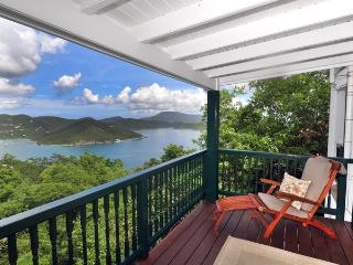Astral Cottage:  Spacious, private, hot tub, view - Coral Bay vacation rentals