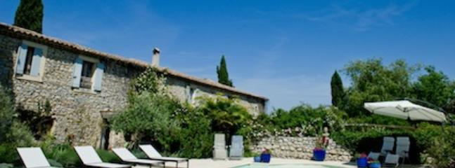The wonderful 11 metre pool - 3 Luxury 5 star gites with heated pool in Provence - Uzes - rentals