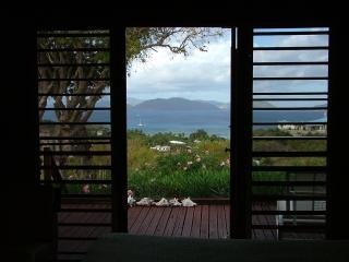 View from Cedar middle bedroom - 3 BR Cedar House with commanding views + car! - Virgin Gorda - rentals