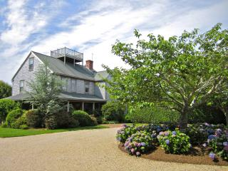 Elegant Family Home & Guest Apt in Private Setting - Nantucket vacation rentals