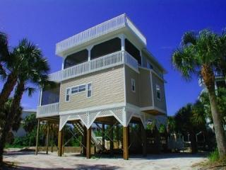 Front View - North Captiva Vacation Home - Cinco De Mayo - 4 BR/3.5 BA - Sleeps 10 In Beds - North Captiva Island - rentals