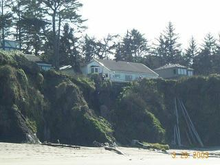 From beach up to house - Coos Bay Lighthouse Way Vacation Home - Coos Bay - rentals