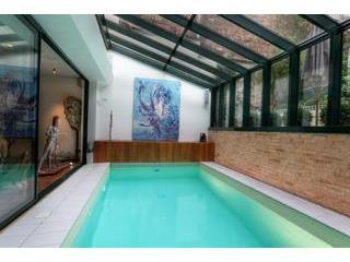 Paris-Oasis pool  5,5 m x 2,5 m. - PARIS-OASIS, from1up to15 pax, rated excellent on Tripadvisor, - Paris - rentals