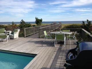 Dune Road Beach House on Ocean w/ Heated Pool - Hamptons vacation rentals
