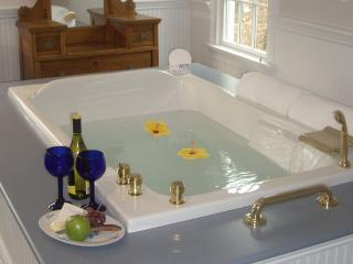 Two person whirlpool.in Carriage Suite - Alexander Hamilton House Beautiful B&B in Cape Cod - Mashpee - rentals