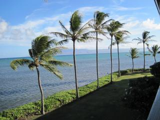 Looking at Lanai from the lanai - Elegant Oceanfront Condo - Kaunakakai - rentals