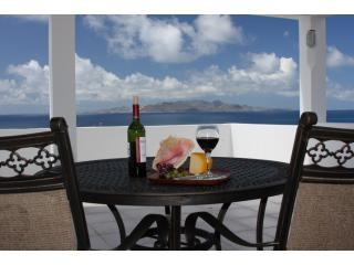 Crow\'s Nest view of St. Maarten and 5 other down islands. - Trip Advisor Award Winner: Panoramic  Views & Pool - Sandy Hill Bay - rentals