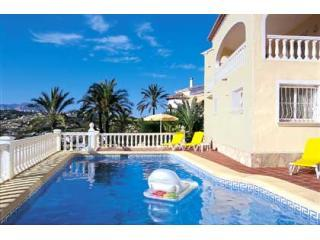 Villa Tranquilo Moraira, pool, air-con, great view - Alicante Province vacation rentals