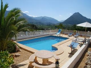 Villa Cariad - Jalon Valley Sleeps 2 to 6 - Murla vacation rentals