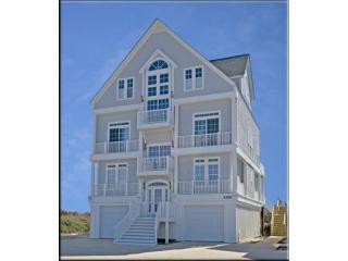 Front Of House - Ocean Front Seven Bedroom Seven Bath Luxury Home - North Topsail Beach - rentals