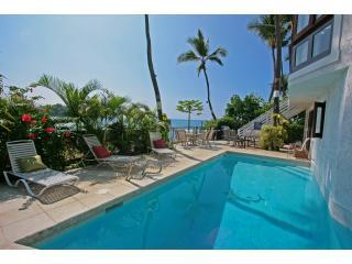 Private Oceanfront Pool with Hot Tub Spa - Absolute Oceanfront Private Home - Kona Shangrila - Kailua-Kona - rentals