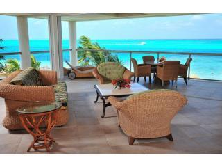 penthouse living room, amazing views - Coral Gardens, Developers own penthouse, Grace Bay 7th night free until Oct 31st - Providenciales - rentals