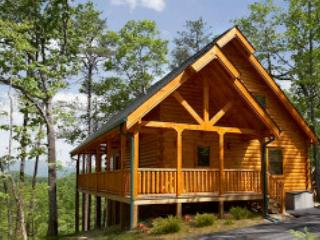 Nice Mountain Views and Privacy in a Luxurious Pigeon Forge Log Cabin!  WOND - Sevierville vacation rentals
