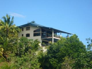 Villa up on hillside facing ocean - Open Plan Villa - Nice Ocean  & Mountain View WIFI - Manuel Antonio - rentals