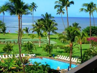 Maui Sunset #A509  Oceanfront Panoramic Ocean Views 1 Bd 2 Bath Great Rates! - Kihei vacation rentals