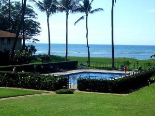 Waiohuli Beach Hale #B-205 Oceanfront Ocean View 1 Bd 1 Ba  Great Rates!! - Kihei vacation rentals