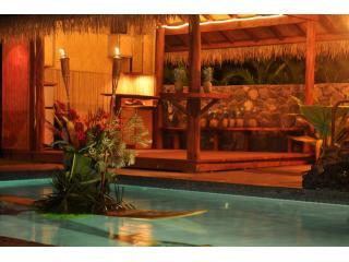 Pool and Cabana at Night - Amazing House w/ Pool, Cabana & More Kihei Wailea - Kihei - rentals