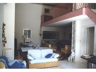 Living room - Luxury apartment in beach front villa, 4 bedrooms - Donoratico - rentals