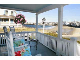 Porch - Beach &  King Street Inn / Beach House Rental - Rockport - rentals