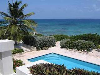 This estate overlooks its own secluded beach and off-shore coral reef, alive with tropical fish. IDP DOL - Anguilla vacation rentals