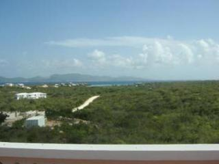 Great for families or couples traveling together, this villa has large upper level deck perfect for enjoying the breeze & ocean  - Little Harbour vacation rentals