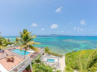 Exquisite, gated beachfront villa- this is a preferred celebrity hideaway. RIC PAR - Little Dix vacation rentals