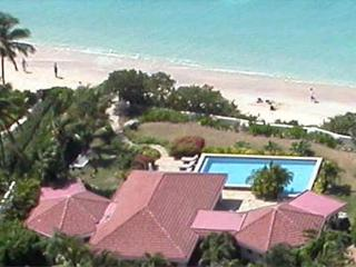 Luxury villa steps from Mahoe Beach with covered patio. VG FAN - Mahoe Bay vacation rentals