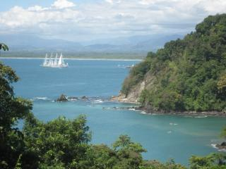 This is what you wake up to every morning - Ocean Mansion-Private Beach- Mt. View-YACHT-Horses - Manuel Antonio - rentals
