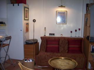 The living area with sofa bed - Welcoming, charming, convenient apartment - 17th Arrondissement Batignolles-Monceau - rentals