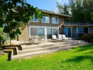 The Kimsey Beach House - Luxury Beach Front Home - Kauai vacation rentals