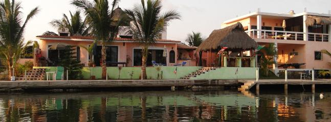 Entire Villa from water - Executive  Waterfront Penthouse Villa - Barra de Navidad - rentals