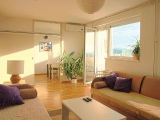 awesome panoramic view on the whole city - Zagreb vacation rentals