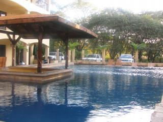 Magnificient swimming pool with bar. - Apart Hotel in Coco Beach - Walk from the beach - Playas del Coco - rentals