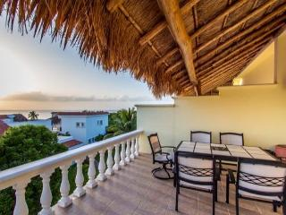 Quinta del Alma (D2) - Large Villa, Scuba Pier, Great Ocean View - Cozumel vacation rentals