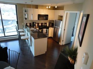 Main Living area - Furnished Apartment w Balcony Yaletown Vancouver - Vancouver - rentals