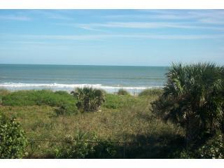 view from bedroom and sunroom - Direct Ocean Front Vacation Resort Condominium - Cape Canaveral - rentals