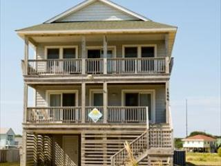 Exterior of home taken from the beach road - Sea Winds #6 121483 - Kill Devil Hills - rentals