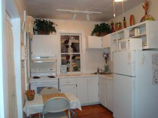 Full kitchen complete with stove, oven, refrigerator and microwave. - It's a Sweet Deal in Historic Old Town - Key West - rentals