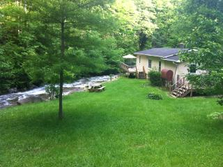 PIGEON ROOST CREEK (Privacy, Trout Stream, Hiking) - Burnsville vacation rentals