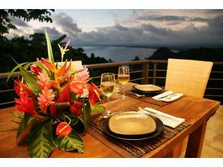 Terrace - Casa 405-Tulemar-Ocean View-Private Beach-Sleeps 8 - Manuel Antonio - rentals