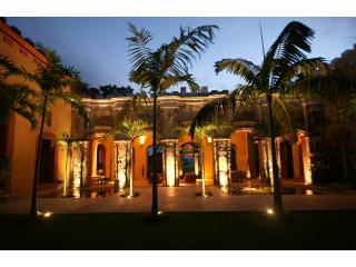 Outdoor Loggia with Living Room and Dining for 12 - Historic Luxury Hacienda with Sumptuous Design - Merida - rentals