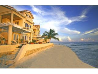 Rear Lagoon Aspect - Luxury executive waterfront villa sleeps10. - Grand Cayman - rentals