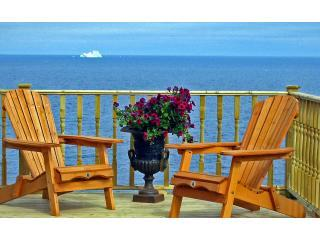 40 yds from Ocean. Experience jaw-dropping views from every window inside-2 private decks outside - Elizabeth J. Cottages Luxury Oceanfront Properties - Bonavista - rentals