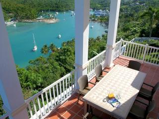 The Great House overlooking the entire Marigot Bay - Marigot Bay vacation rentals