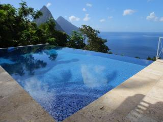 The Villa Alegria - Picture-Perfect View of Pitons - Marigot Bay vacation rentals