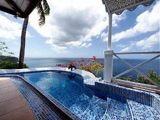 The Caribbean Blue Suite - perfect horizon views - Marigot Bay vacation rentals