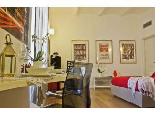 CF living room - Delightful FLAT with private terrace - Colosseum - Rome - rentals