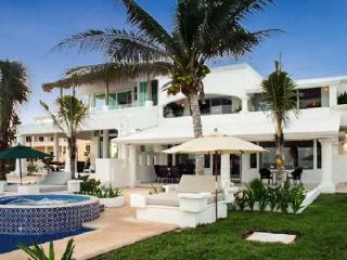 Villa Tortuga - Exclusive villa on the beach with scenic terrace & pool - Riviera Maya vacation rentals